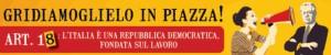 Federazione della sinistra contro il Governo Monti