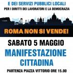 Comitati per l'acqua pubblica ancora in piazza il 5 maggio